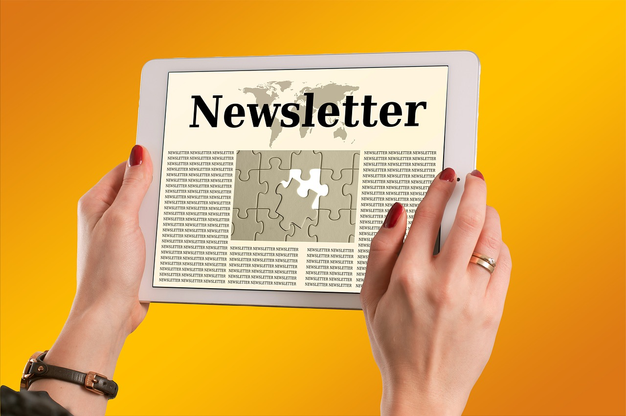 newsletter d'une e-mailing